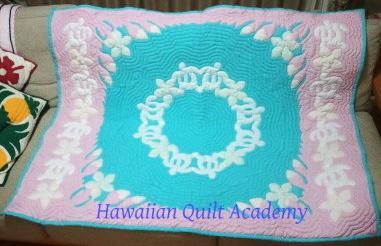 キルト 教室 ハワイアン